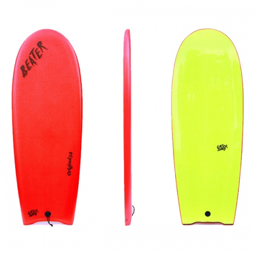 Catch Surf Beater Finless (Red/Yellow) Surfboard