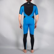 Quiksilver Mens 2mm Ignite S/S (Black/Blue) Wetsuit