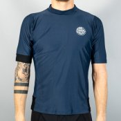 Rip Curl Aggro Relaxed Short Sleeve (Navy)