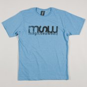 MSW Distressed Logo T-shirt (Blue Marle)