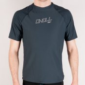 O'Neill Mens 24-7 Tech S/S Rash Vest (Grey) 2013