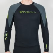 O'Neill Mens 1mm Hammer Rash Vest (Black) 2013