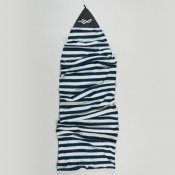 FCS Stretch Cover Funboard (Navy White)
