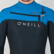 O'Neill Mens 3mm Hyperfreak (Black/Blue) Wetsuit