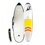 Bic 7ft9 Natural Surf Padded Package