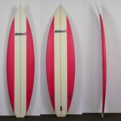 BatonR Shortboard (Red Stripe)
