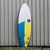 7S Super Fish 3 Carbon Vector (Yellow/Blue) Surfboard