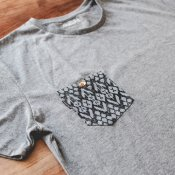 Volcom Printed Pocket SS (Heather Black)