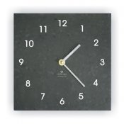 Ashortwalk Recycled Wall Clock (Black)