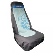 Bulldog Seat Cover (Blue)